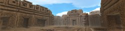 Ancient Ruins (simulated panorama)