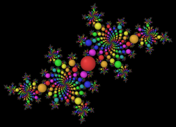 Roots of the Julia set, -0.4 + 0.6i