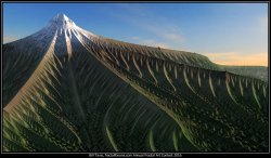 Mandelbrot Mountain