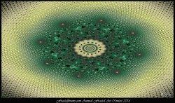 Fractal Vasarely