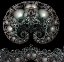 Mandelbox Julia with Spirals