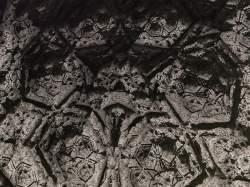 Engraved star symbol