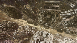 Inside Mandelbox scale 2