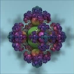Juliabulb --> Sphereflake