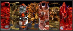 Mandelbulb Mutation Game Gallery