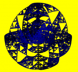 Sierpinski ball iteration 5