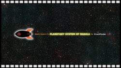Postcard from the Shaula's Planetary System