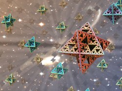 Platonic emanation from monotheistic center of light