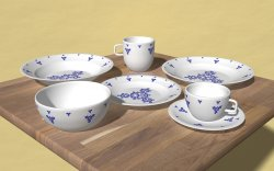 Chinaware Kleinian I
