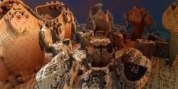 Cheops Castle Cortyard II