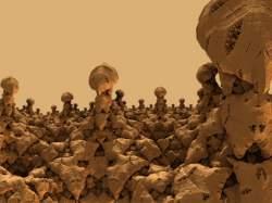 Mushroom Pillars