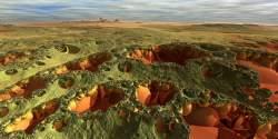 Badlands of Epsilon Eridani 4