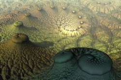 Minivolcanoes spiral