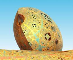 Mandelbox Egg