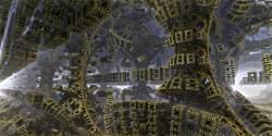 Folded Menger Towers