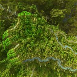 Mineral planet: Koch River jungle