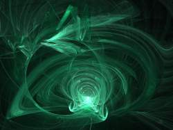 Green Flame Vortex