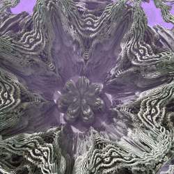 Mandelbulb Crown Flower with Pink Mist