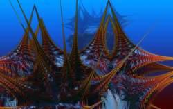 Creatures of underwater
