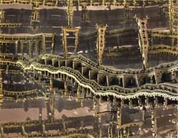 collapsing the metal bridge