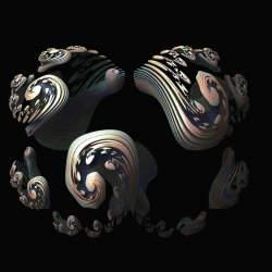 Flat Spiral Julia