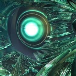Cybernetic eye.