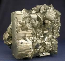 Fractal pyrite