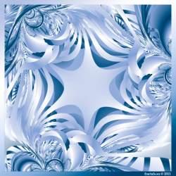 Ribbon fractal