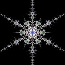 Pewter Snowflake