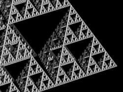 3D escape-time IFS fractal using delta DE