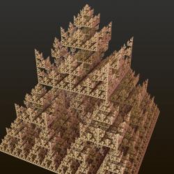 Mistake in Sierpinki triangle algorithm