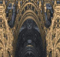 Enter the cathedral