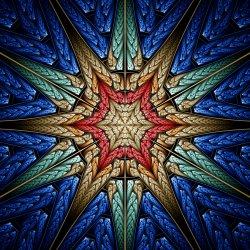 Embroidered Starburst