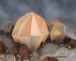 Mandelbulb polyhedra { 1 }