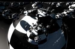 checkerboard metalballs 2