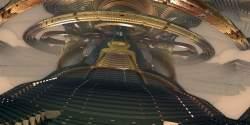 Ufo's entrance