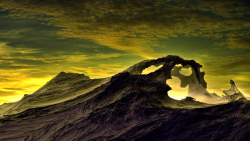 The Great Arch Anomaly on Tiako, 7th Moon of Tiayeak