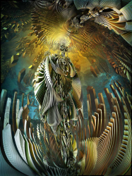 a Disturbing Premonition of the Fractalic Mystical Rhinoserotic Resurrection of the Madonna of the N