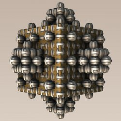 Hungry Magnetic Menger