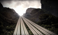 The Infinitely Divided Highway to Fractal Insanity