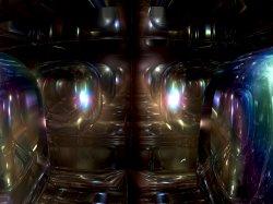 Chrystal cubes