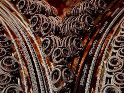 Ribbons of fractals