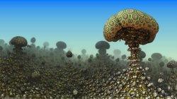 Mushroom Eruption