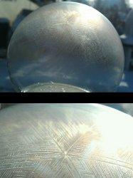 Microscopic Photo of Soap Bubble