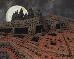 The turrets.