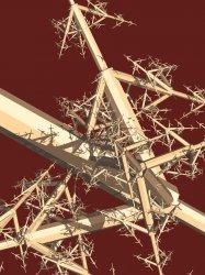 3D IFS - Dragon tree style modification