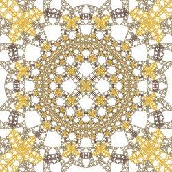 Hyperbolic Rep Tile 10