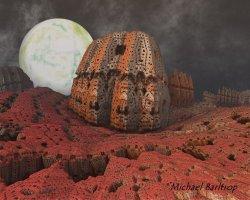 Architecture of alien origin