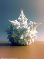 Amazing fractal bulb - 3D print