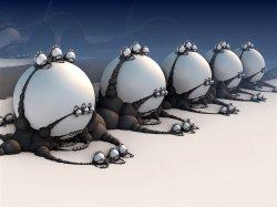 Virus attack on White globules